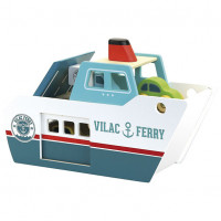 Ferry en bois Multicolore Vilac