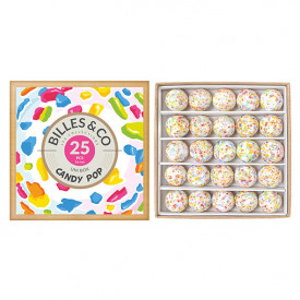 Coffret de 25 billes - Candy Pop