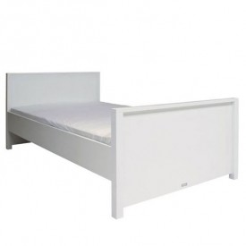 Lit Double 120 x 200 Mix & Match - Blanc