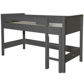 Lit Mezzanine Mix & Match - 128 cm - Anthracite