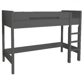 Lit Mezzanine Mix & Match - 155 cm - Anthracite