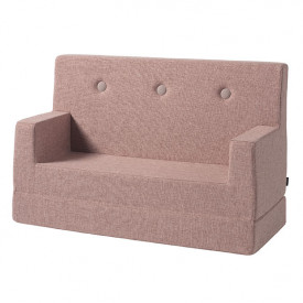Sofa Enfant - Rose Pâle / Rose Rose by KlipKlap