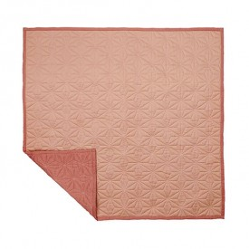 Plaid Quilt - Blush