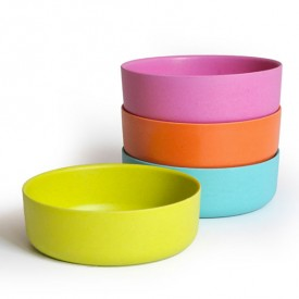 Set de 4 bols Multicolore Ekobo