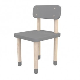 Petite chaise PLAY - Gris