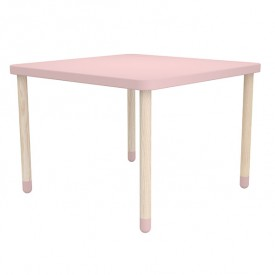 Petite table carrée PLAY - Rose