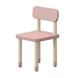 Petite chaise PLAY - Rose Léger