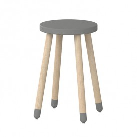 Tabouret / Table d'appoint PLAY - Gris