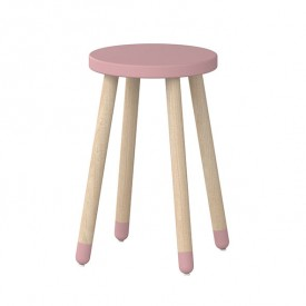 Tabouret / Table d'appoint PLAY - Rose