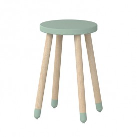 Tabouret / Table d'appoint PLAY - Vert menthe