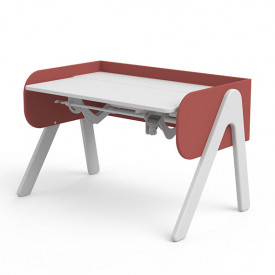 Bureau Inclinable WOODY - Blanc / Misty Rose