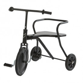 Tricycle en métal -  Noir