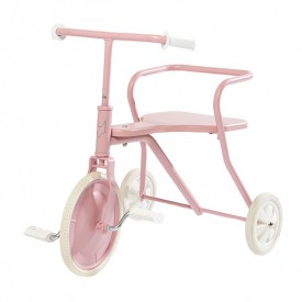 Tricycle en métal - Rose