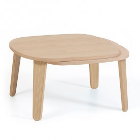 Table basse extensible Colette - Chêne naturel