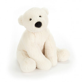 Peluche Ours Polaire Perry (36 cm)