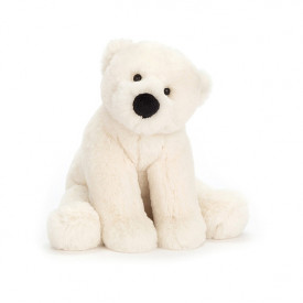 Peluche Ours Polaire Perry (19 cm)