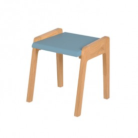 Tabouret My Little Pupitre - Bleu Nordique