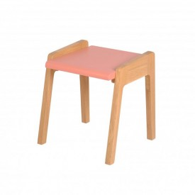 Tabouret My Little Pupitre - Rose