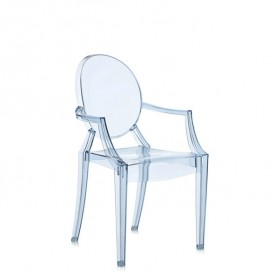 Chaise Lou Lou Ghost Bleu