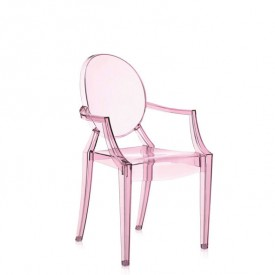 Chaise Lou Lou Ghost Rose
