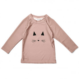 T-Shirt Anti-UV Noah - Chat Rose
