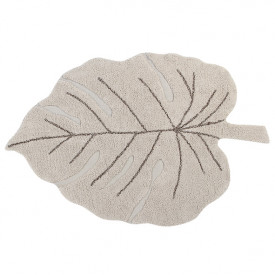 Tapis Monstera 120 x 180 cm - Naturel