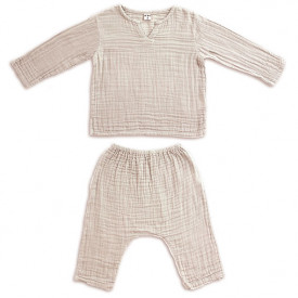 Ensemble Pyjama Zac - 1-2 ans - Powder