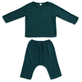 Ensemble Pyjama Zac - 1-2 ans - Teal Blue