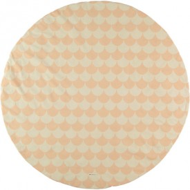 Tapis rond - Ecaille - Rose