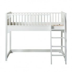 Lit Mezzanine Mi-Hauteur Junior 90 x 160 Seaside