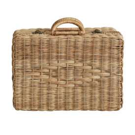 Valise en osier Toaty Trunk - Naturel