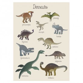 Poster - Dinosaures