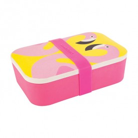 Eco Lunch Box - Flamant Rose