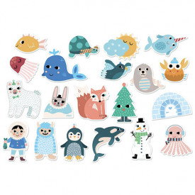 Magnets Animaux Polaires Michelle Carlslund