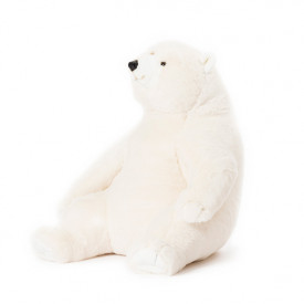 Peluche Ours Blanc Victor