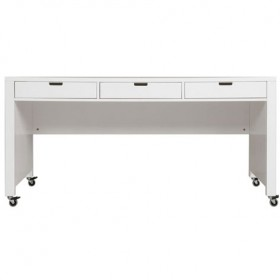 Bureau XL à roulettes Mix & Match - Blanc