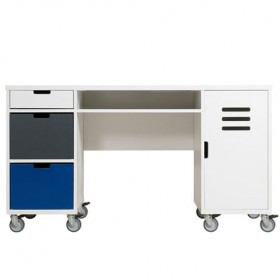 Bureau Locker Mix & Match - Blanc