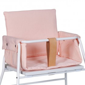 Coussin chaise haute - Rose