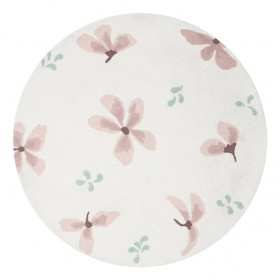 Tapis Rond - Windflower Crème
