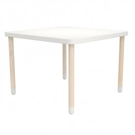 Petite table carrée PLAY - Blanc