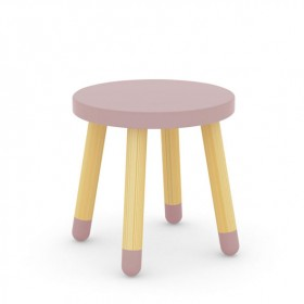 Petit tabouret PLAY - Rose