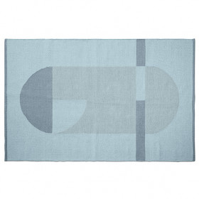 Tapis Room 120 x 180 - Bleu Frosty
