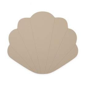 Set de table silicone Coquillage - Greige