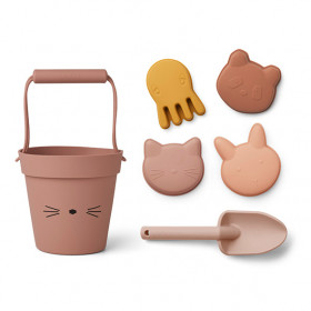 Jeux de plage Silicone Dante - Chat Mix Rose