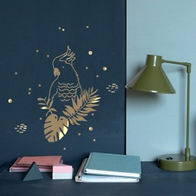 Sticker - Perroquet Gold