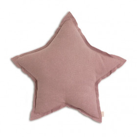 Coussin Etoile - M - Dusty Pink