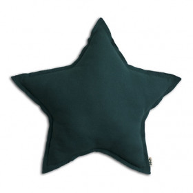 Coussin Etoile - M - Teal Blue