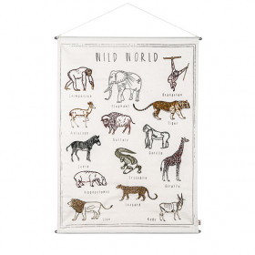 Poster Vintage - Animaux Sauvages