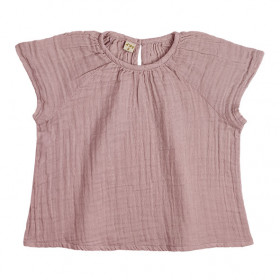 T-Shirt Clara - 1-2 ans - Dusty Pink