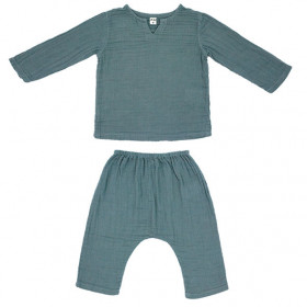 Ensemble Pyjama Zac - 1-2 ans - Ice Blue